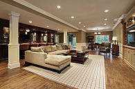 basement remodeled