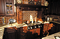 custom homes kitchens